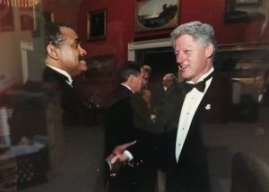 Don Allen & Bill Clinton