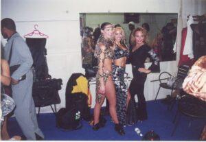 TJ, Josie Neglia & Edie Salsa Freak Lewis