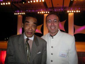 Judging with Cuban Pete at World Salsa Championships